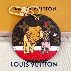 NEW Louis Vuitton Bag Charm and Key Holder